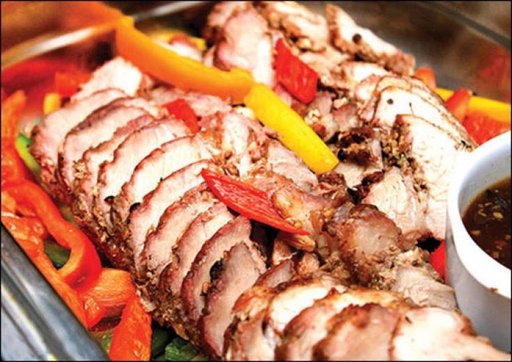 Thịt cừu non nướng lửa hồng